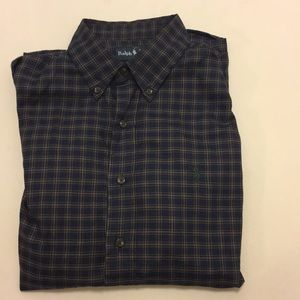 Casual button down ralph lauren size L custom fit